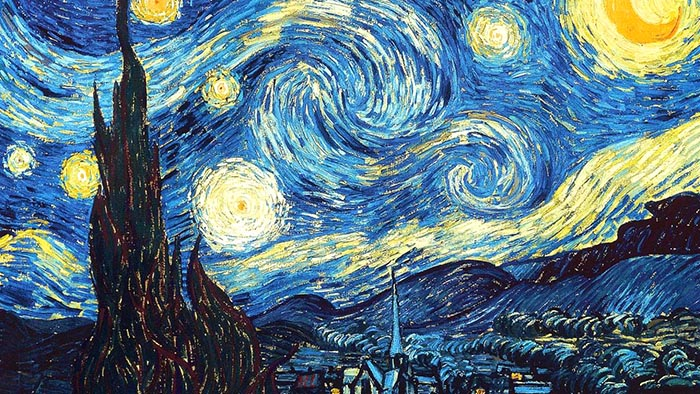 Van Gogh, The Starry Night.