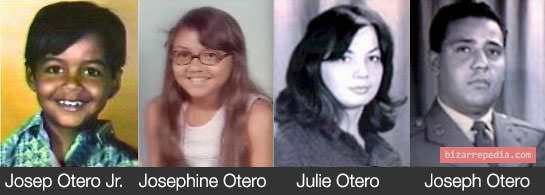 Otero family, the first victims of BTK.