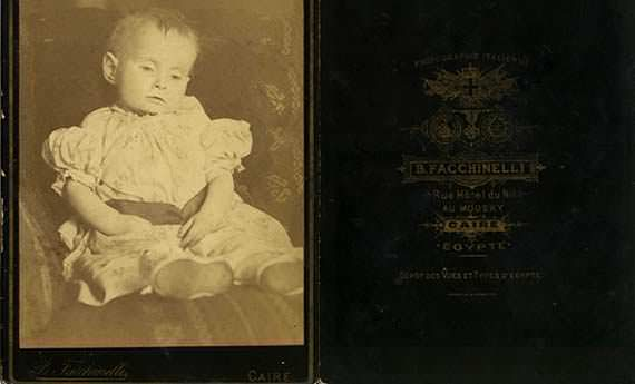 Victorian post-mortem infant