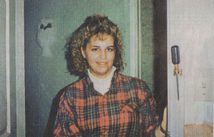 Young Karla Homolka at the age of 17